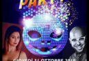 SERRAVALLE, HALLOWEEN PARTY IN SALA EDEN – GIOVEDI' 31 OTTOBRE 2019 –