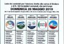 – Elezioni di Riva del Po – COMUNE DI RIVA DEL PO – LISTA DEI CANDIDATI ELEZIONE DIRETTA DEL SINDACO E DEL CONSIGLIO COMUNALE – 26 MAGGIO 2019 –