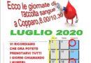 AVIS – LE GIORNATE PER LA RACCOLTA DEL SANGUE PRESSO IL MANDAMENTO DI COPPARO – MESE DI MAGGIO 2020