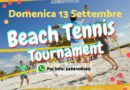 BERRA – BEACH TENNIS TOURNEMENT – DOMENICA 13 SETTEMBRE 2020 – INFO: 348 910 8160