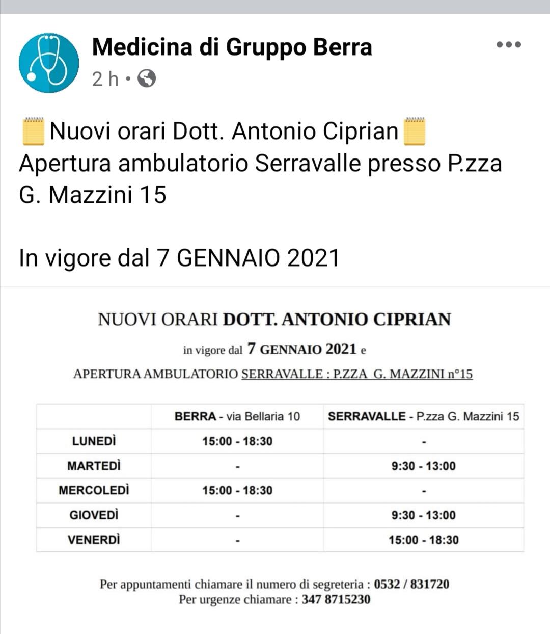 7 gennaio 2021 – Serravalle -Web- Riva del Po