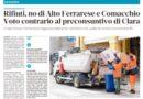 Rifiuti, no di Alto Ferrarese e Comacchio – Voto contrario al preconsuntivo di Clara