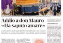 """Pomposa – Funerale di don Mauro Benazzi – Un sacerdote che """"ha saputo amare"""" – Da La Nuova Ferrara"""