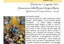 FOGLIO DI COLLEGAMENTO – PARROCCHIE DI BERRA E COLOGNA – DOMENICA 15 AGOSTO 2021