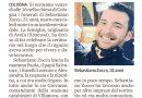 """COLOGNA – Fissati per venerdì nella sua Cologna i funerali di """"Sebi"""" – La Nuova Ferrara 15.9.21"""