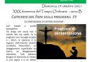 FOGLIO DI COLLEGAMENTO – PARROCCHIE DI BERRA E COLOGNA – DOMENICA 24 OTTOBRE 2021